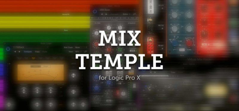 Mix Temple Templates Logic Pro X Logo Wide Web Hd 800x371 Jpg