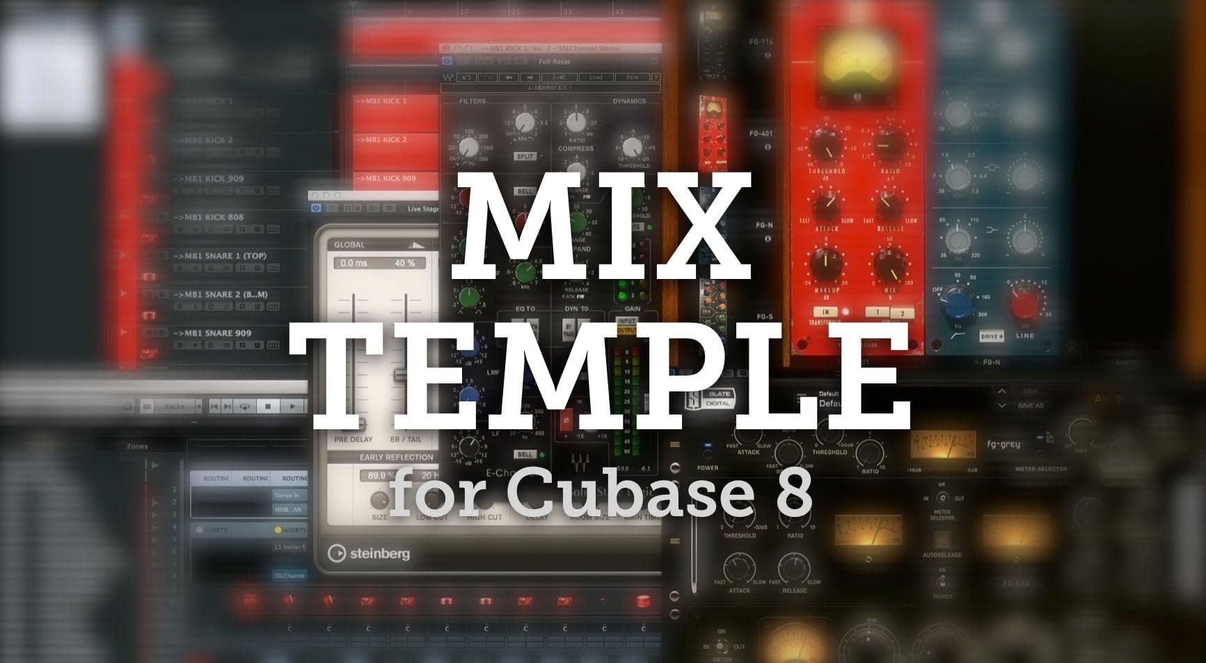 free cubase mix templates